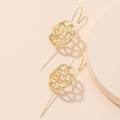 neue einfache Mode Blumenohrringe NHAI306311's discount tags