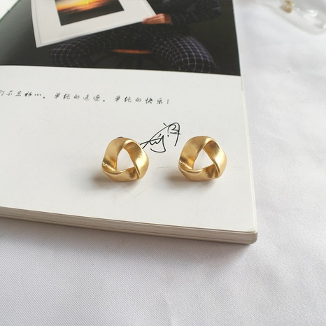 small irregular triangle earrings  NHAI306317's discount tags