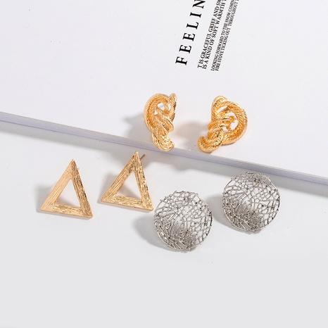 irregular metal fashion earrings NHAI306326's discount tags