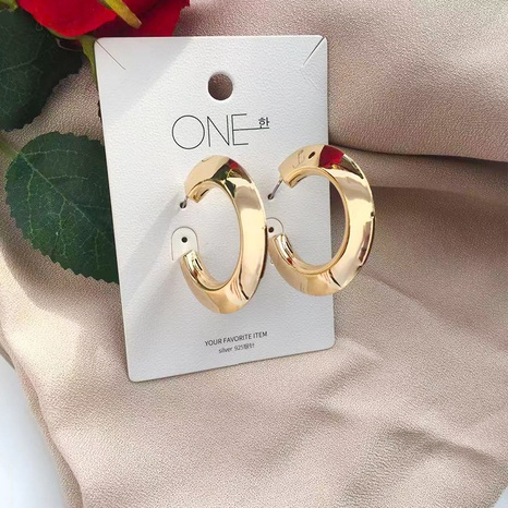 Großhandel Metall Mode Ohrringe NHAI306332's discount tags