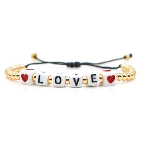 Valentine's Day Love Letter Bracelet NHGW306349's discount tags