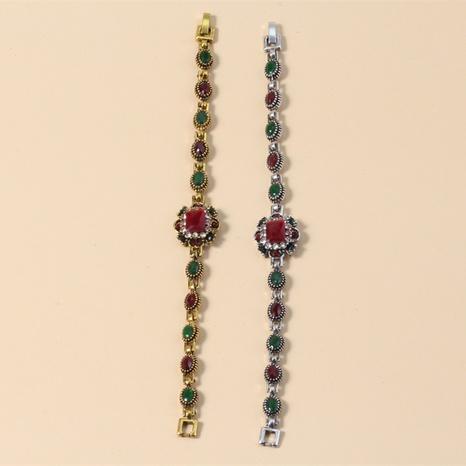 Simple retro bohemian ethnic style diamond bracelet  NHKQ306371's discount tags