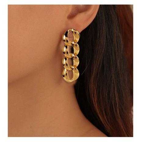 einfache Legierung Mode Retro lange Ohrringe NHCT306420's discount tags