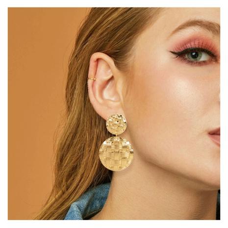 geometrische Ohrringe aus Retro-Legierung NHCT306422's discount tags