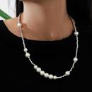 Fashion Imitation Pearl Necklace NHPV306426