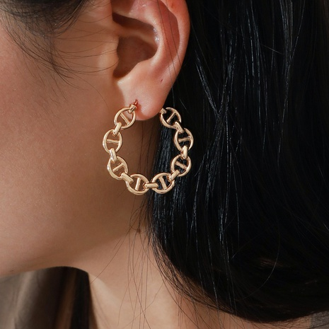 fashion elegant pig nose earrings  NHPV306433's discount tags