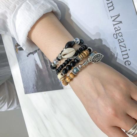 bohemian multi-layer beaded bracelet  NHBD306532's discount tags