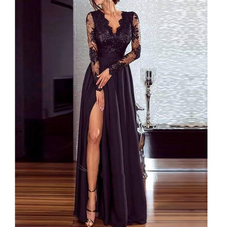 New fashion sexy lace long dress NHJG307317's discount tags