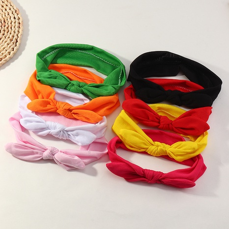conjunto de diadema de orejas de conejo bowknot coreano retro NHNU306630's discount tags