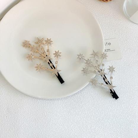 Nouvelle pince à bec de canard étoile coréenne NHWF306634's discount tags