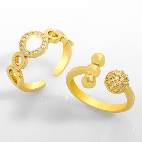 zircon fashion tail ring NHAS306662's discount tags