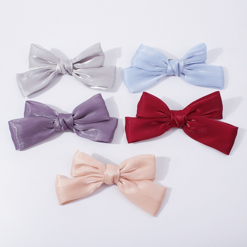 simple fashion bow hairpin NHMD306691