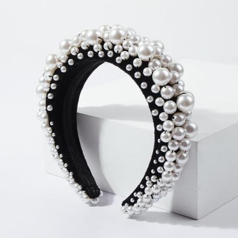 einfache Schwammperle Mode Perlen kreative Haarband NHMD306693's discount tags