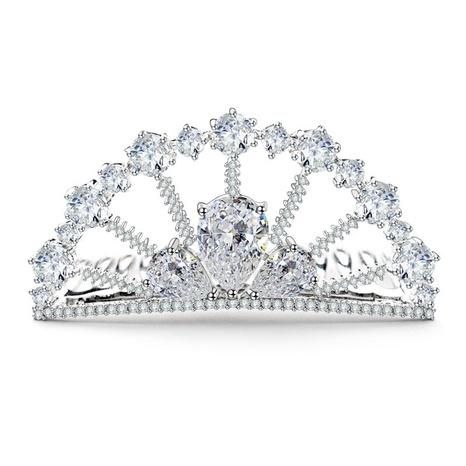 Korean Fashion Crown hairband NHTM306619's discount tags