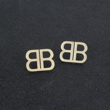 Alphabet-Ohrringe aus Retro-Legierung NHCT306424's discount tags