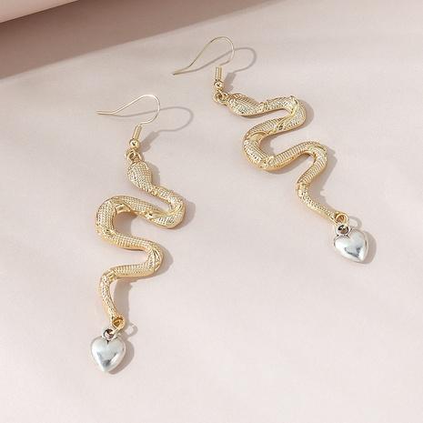 Pendientes de serpientes salvajes creativas coreanas NHPS306748's discount tags
