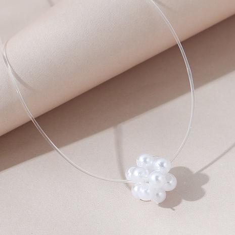 Einfache Perlenkette der koreanischen Retro-Wildmode NHPS306752's discount tags