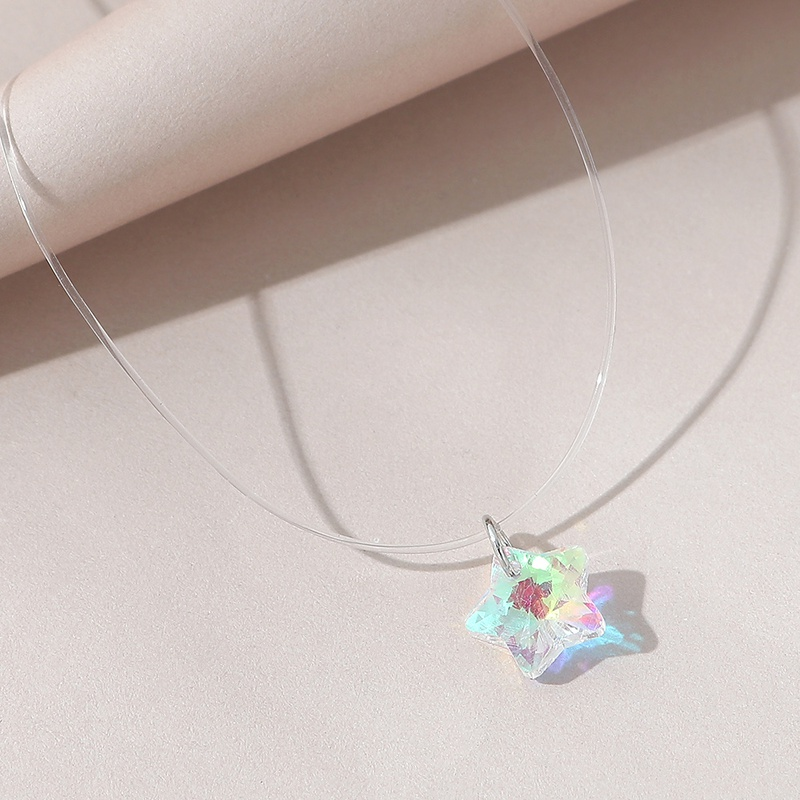 Korean fashion star necklace NHPS306759