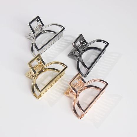 retro simple alloy hair grab clip NHAR306871's discount tags