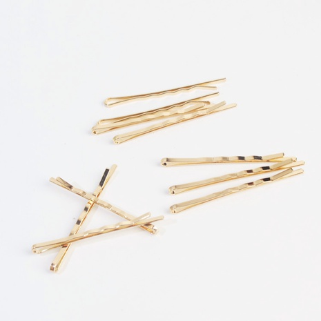 Ensemble de pinces à cheveux Simple Alloy Basic NHAR306886's discount tags