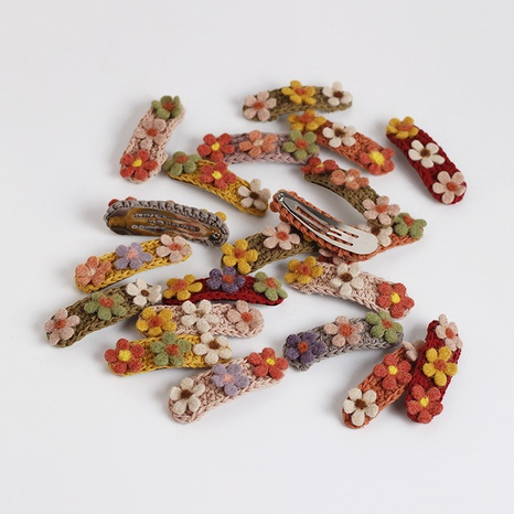 sweet woolen korea cute new hair clip NHAR306930's discount tags