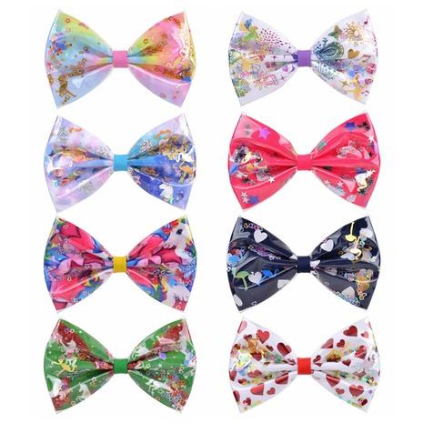 nuevo conjunto de horquillas de lazo de colores para niños NHMO306948's discount tags