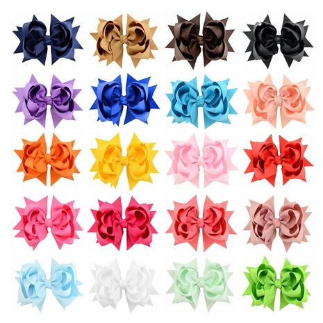 new simple flower fishtail bow hairpin set NHMO306952's discount tags