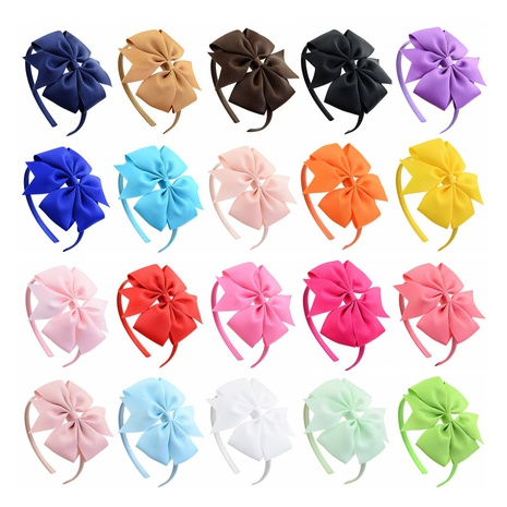 children's oblique fishtail angle bowknot hair band set NHMO306953's discount tags