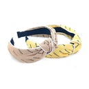 Korean new middle knotted hair band  NHUX306968