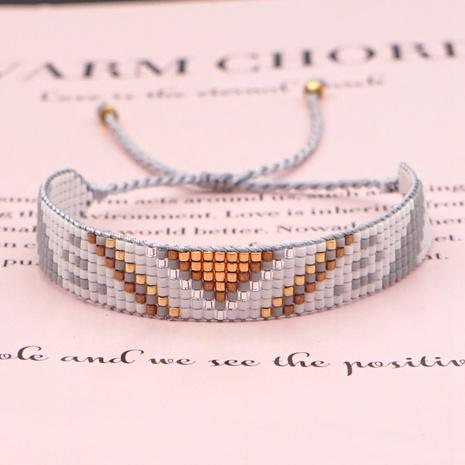 Einfaches gewebtes Armband aus böhmischem Stilelement NHGW306983's discount tags