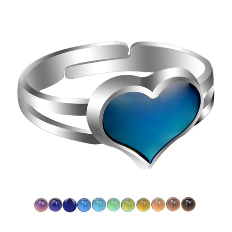 fashion heart opening ring  NHBI307003's discount tags