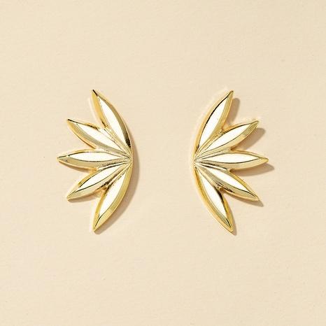 fashion metal flower alloy earrings NHGU307019's discount tags