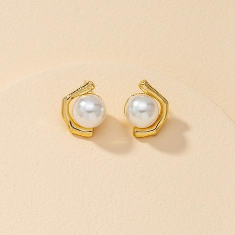fashion pearl retro earrings  NHGU307032's discount tags
