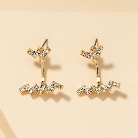 fashion diamond retro earrings  NHGU307041's discount tags