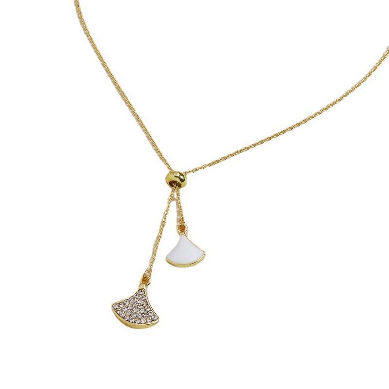 fashion diamond metal pendant necklace wholesale  NHGU307043
