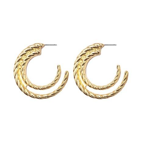 fashion C-shaped alloy earrings  NHGU307046's discount tags