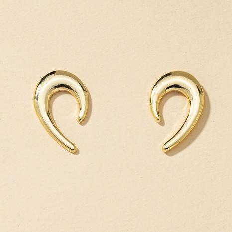 fashion geometric irregular alloy earrings NHGU307049's discount tags