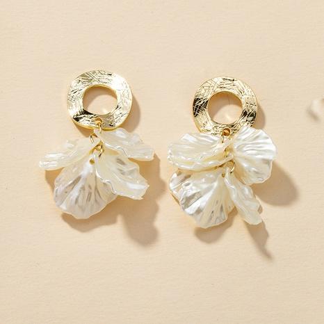 fashion petal retro earrings NHGU307052's discount tags