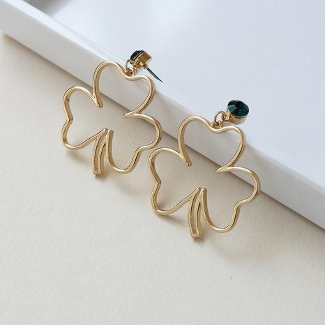 fashion alloy leaf earrings  NHGU307053's discount tags