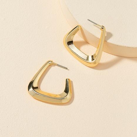 fashion alloy geometric earrings  NHGU307074's discount tags