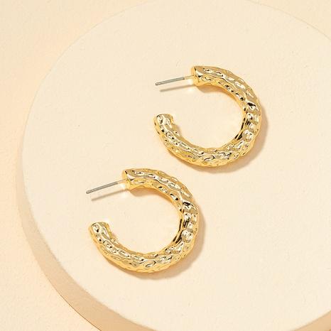 fashion metal leaf retro earrings NHGU307075's discount tags