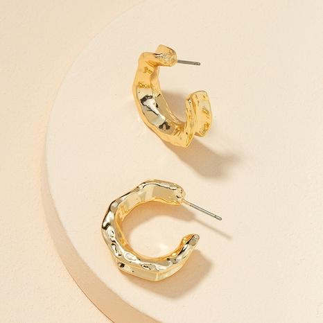 fashion C-shaped alloy retro earrings NHGU307081's discount tags