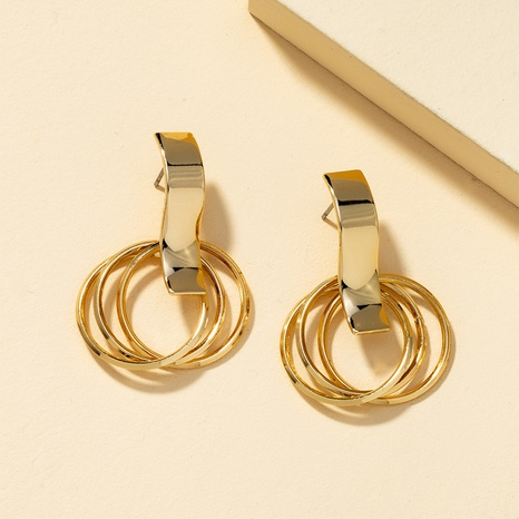wholesale simple heart-shaped earrings NHQJ307093's discount tags