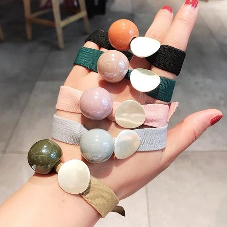 anneau de cheveux de boule coréen simple NHDQ307134's discount tags