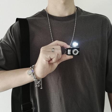 collier de caméra hip hop collier pull NHQC307805's discount tags