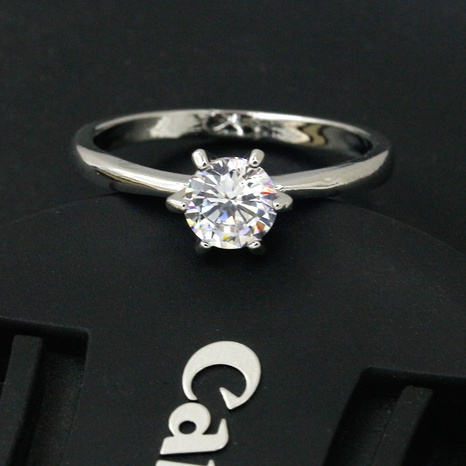 new fashion simple zircon ring NHDP307152's discount tags