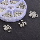 semifinished alloy rice beads diy bracelet necklace costume accessories NHSD307218