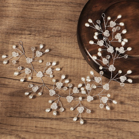 Korea handmade pearl headband  NHHS307229's discount tags