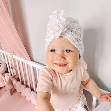 gorra elástica de encaje de color sólido para niños NHWO307232's discount tags