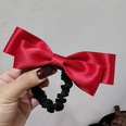 NHAR1394331-Hair-Tie~Red-Double-Bow